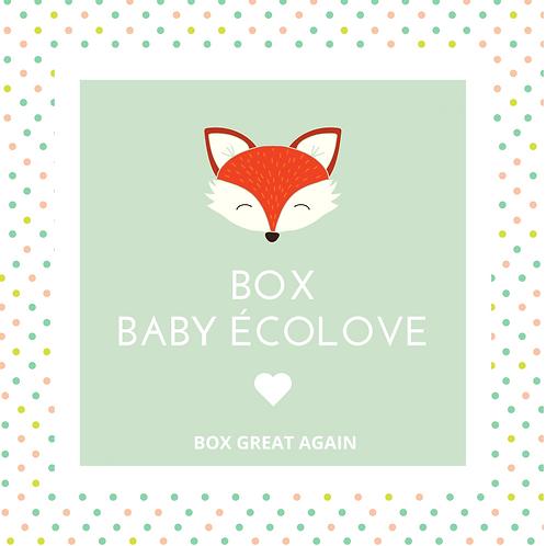BOX BABY ÉCOLOVE