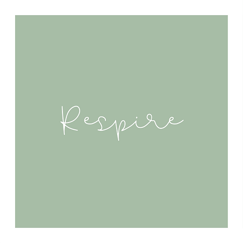 "BOX ""RESPIRE"""