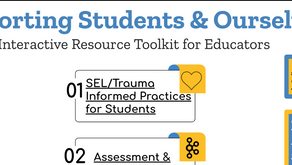 Educator's Toolkit - Taking Care of Our Students and Ourselves
