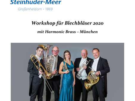 Ausgebucht: Harmonic Brass - Workshop 2020