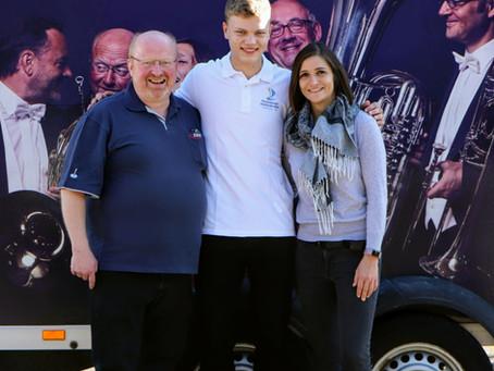 Vom Jungbläser zum Konzerttrompeter