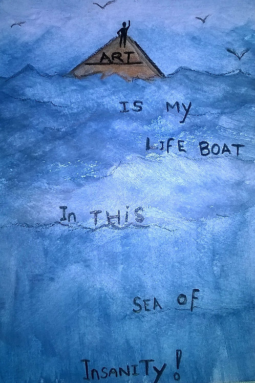 Life Boat by Kaz Indigo Raven