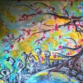 Sunrise on Blossom Bridge by Mark Whittaker