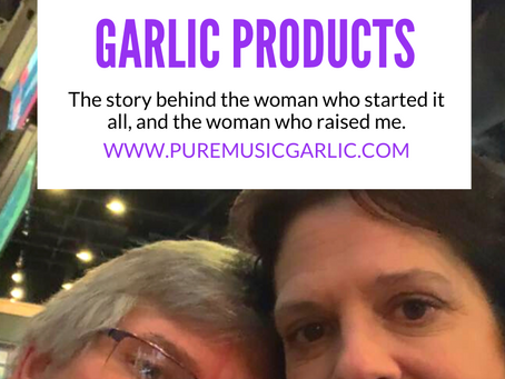 The Face behind Pure Music Garlic Products