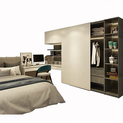 Luxury Wardrobe Design With Dressing Table