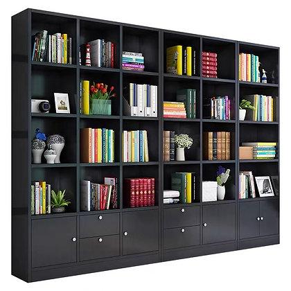Modern Design Office Book Shelf Rack Floor Grid Cabinet