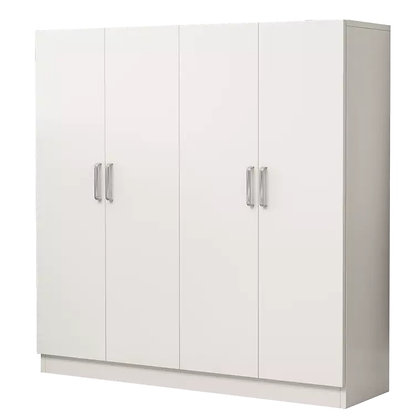 Simple White Shoes Cabinet