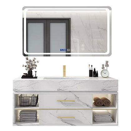 Minimalist Bathroom Cabinet and Wash Basin