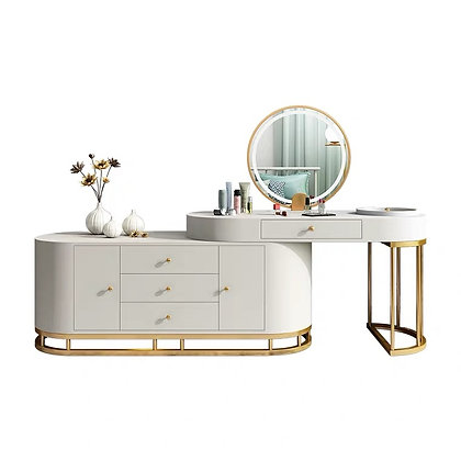 European Dressing Table Bedroom Storage Cabinet