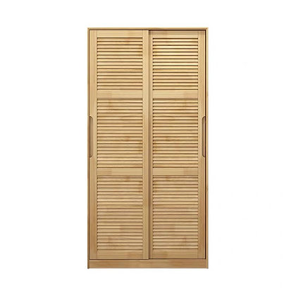 Light Wood Muji Shoes Cabinet