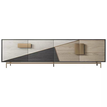 Italian TV Console Cabinet Drawer Sideboard