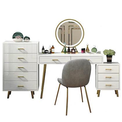 Light Luxury Dressing Table Big Storage