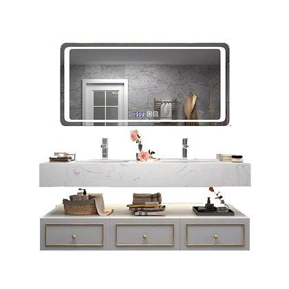 Modern Mable Double Basin Bathroom Cabinet