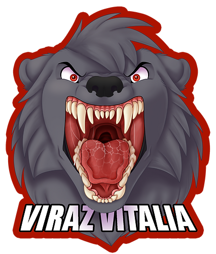 Viraz Vitalia Flat Color Shipped Mawshot