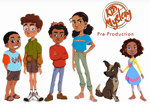 Kid Mystery - Animation