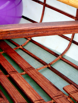 Skin-on-frame canoe woodworking project