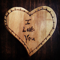 Heart woodworking project