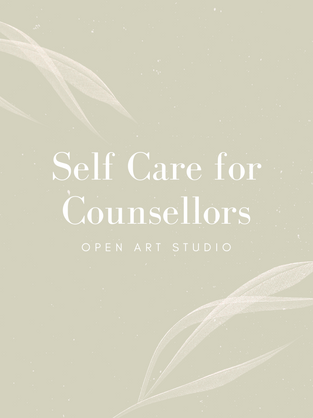 Self Care for Counsellors