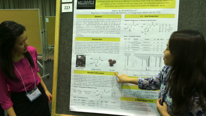 18th Undergraduate Research Symposium in the Chemical and Biological Sciences - Fall 2015 - UMBC