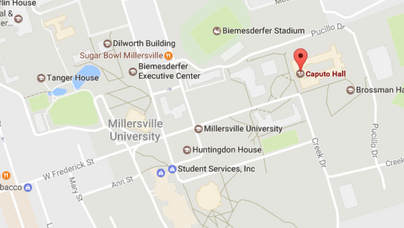 Millersville University of Pennsylvania - Map