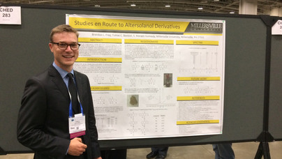 Presenting our altersolanol project at the 254th ACS National Meeting in Washington, DC