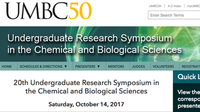Save the date (Saturday, October 14th 2017)...