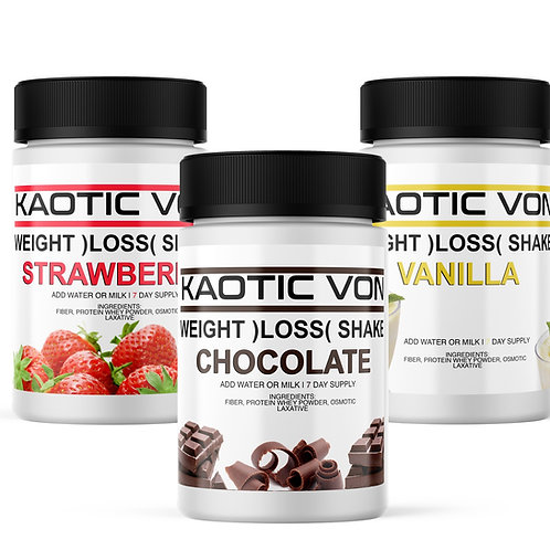 Kaotic Weight Loss Shake