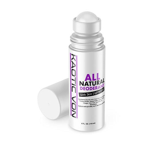 Kaotic Natural Deodorant w/skin lightening