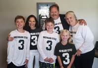 The Kelly Family and our latest adoptee to our family