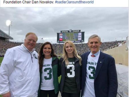Cotton Bowl Donates $50,000 to MSU Mike Sadler Legacy Football Scholarship