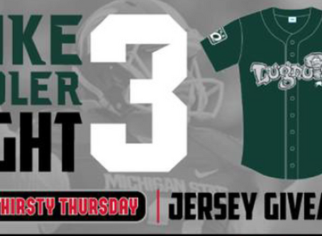 "Lugnuts honor MSU great Sadler with ""Mike Sadler Night"" at ballpark"