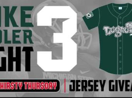 "Lugnuts honor MSU great Sadler with ""Mike Sadler Night"" at ballpark"