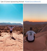tyler o'conner #sadler3aroundtheworld