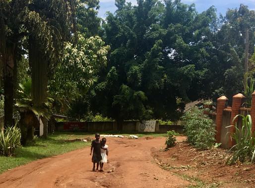 The first few days in Uganda