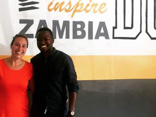 The first meeting with Daliso and Zambia!