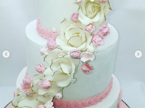 One of the cakes of Prisca