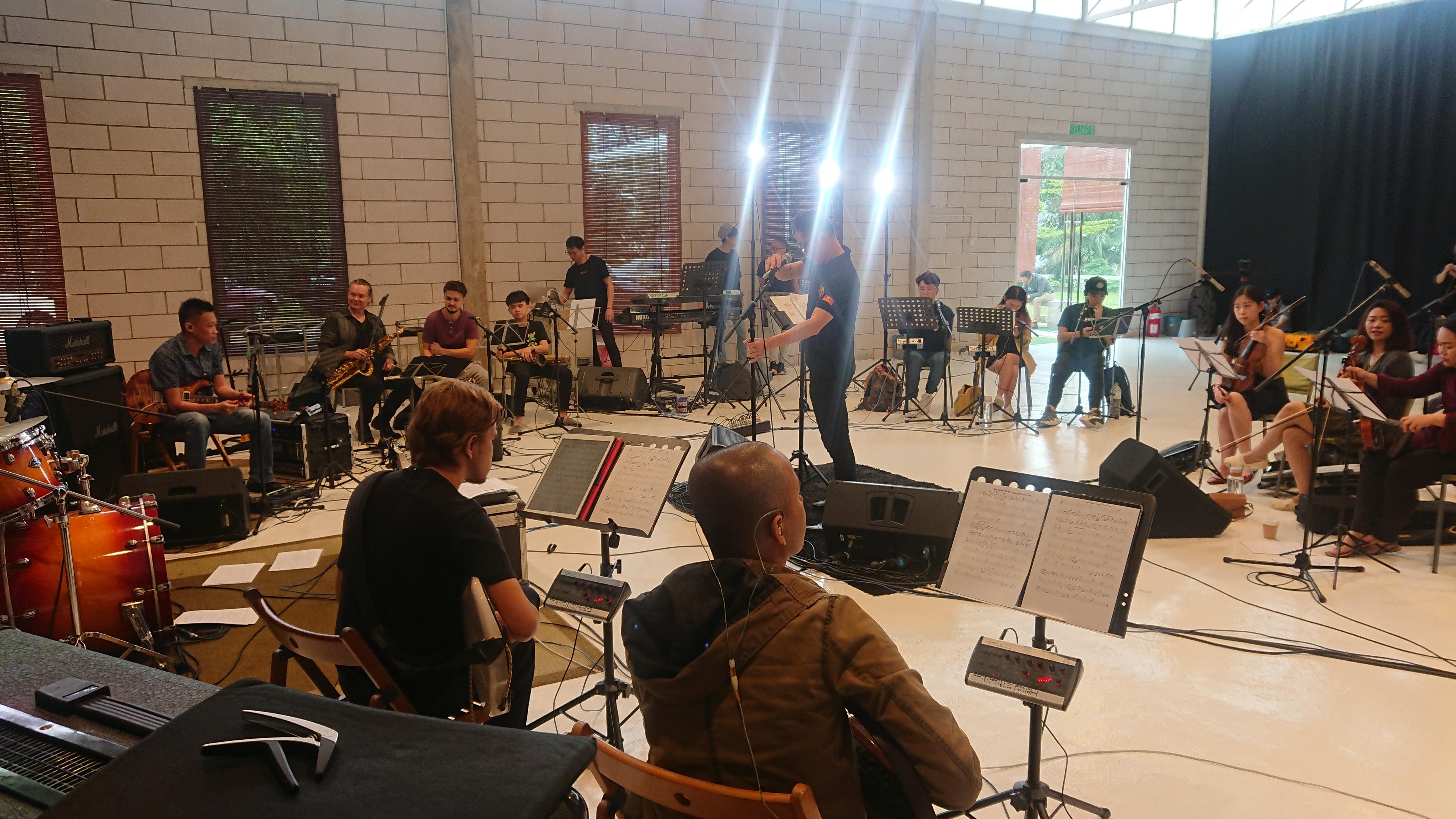 Studio Hall Rehearsal