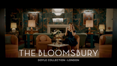 Bloomsbury Hotel: The Writer's Retreat