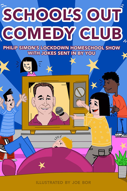 School's Out Comedy Club Children's Charity Joke eBook