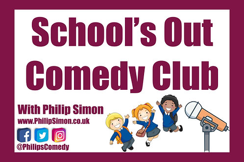 School's Out Comedy Club Daily Live Stream Zoom Show