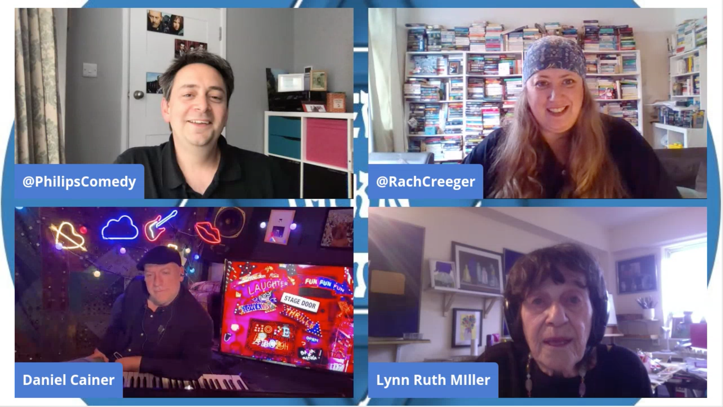 With Guests Daniel Cainer & Lynn Ruth Miller