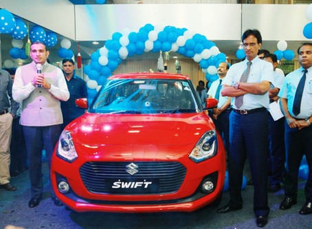 "Maruti Suzuki - ""THE ALL NEW SWIFT"" Iconic premium hatchback comes with an exciting new design"