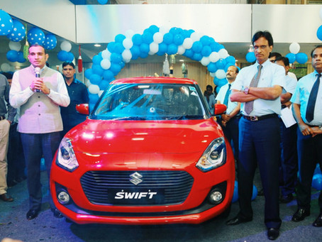 """Maruti Suzuki - """"THE ALL NEW SWIFT"""" Iconic premium hatchback comes with an exciting new design"""
