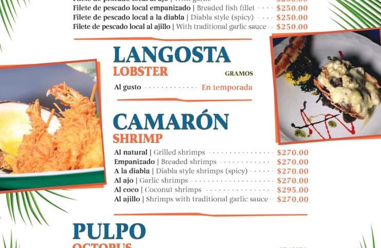 tikinxicmenufreshfishrestaurantfoodislam