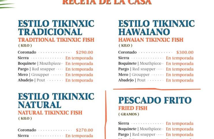 Menurestaurantfoodfishseafoodbeachclubca