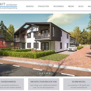 Nieuwe website DE WIT architecten live
