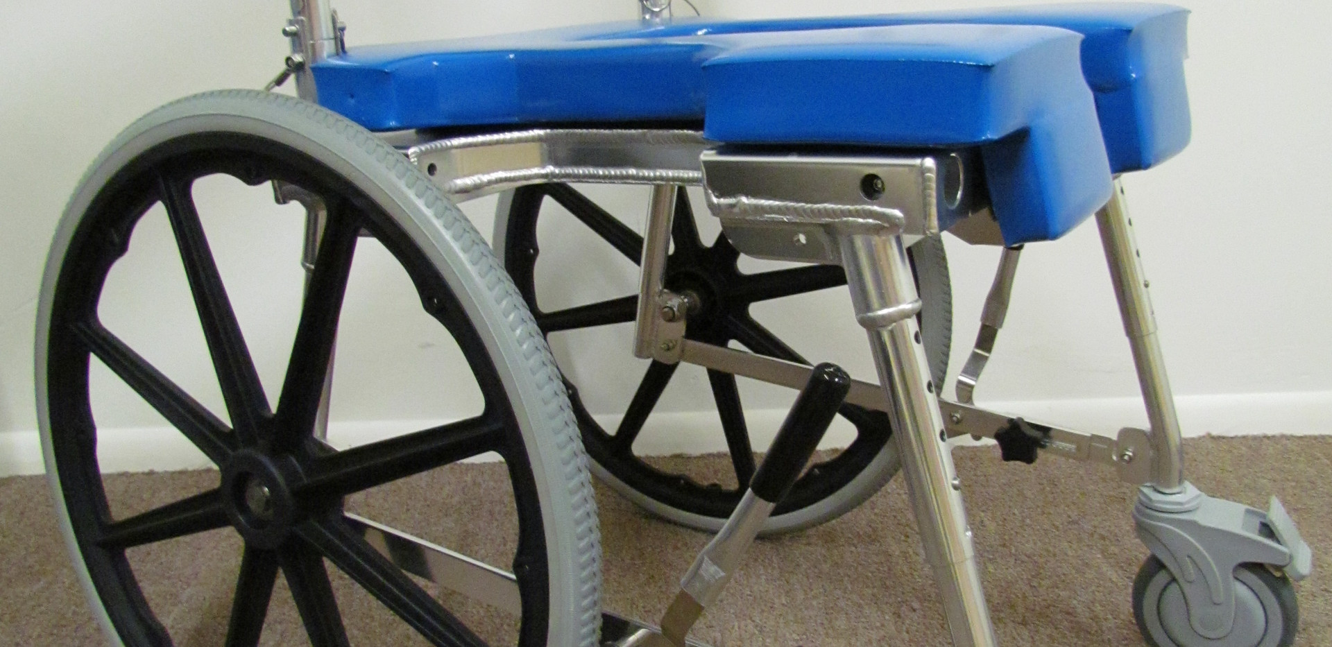 Commode Shower Chair Self Propelling