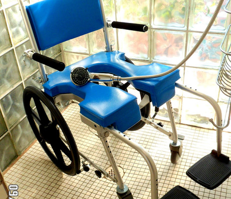 Shower Commode Self Propel