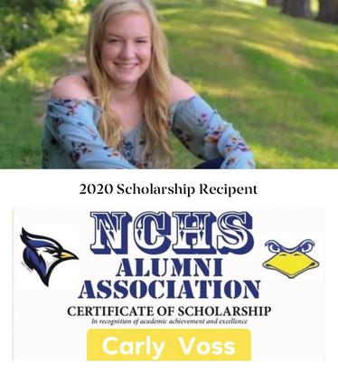 2020 Scholarship Recipient