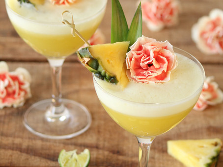 Healthy Hawaiian Cocktail